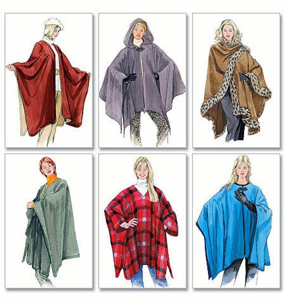 Lovely Ruana or Poncho Pattern for La S Mccalls 3448 New Sewing Ruana Pattern Of Amazing 41 Pictures Ruana Pattern