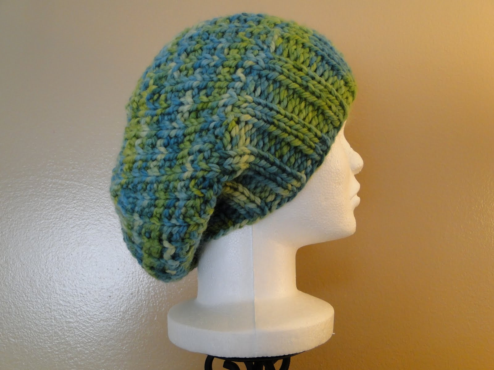 Ruby Knits Free Pattern Friday Ribby Slouch Hat