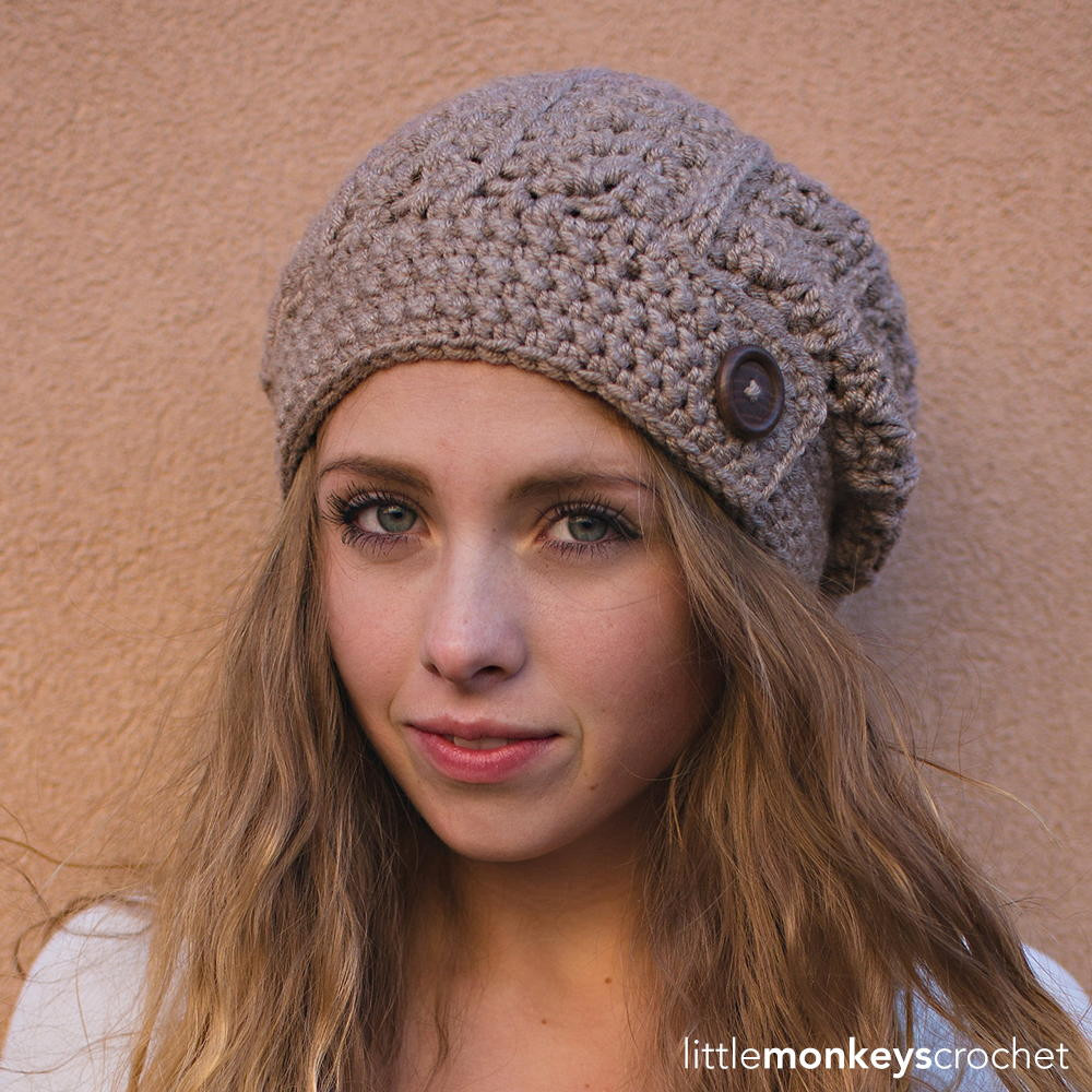 Lovely Rustic Slouch Hat Chunky Crochet Hat Of Awesome 45 Models Chunky Crochet Hat
