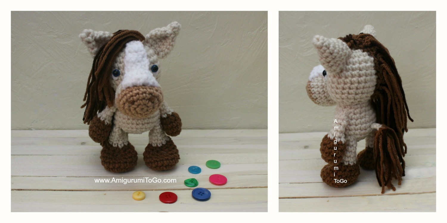 Lovely S Mores the Horse Amigurumi to Go Free Crochet Horse Pattern Of Charming 47 Ideas Free Crochet Horse Pattern