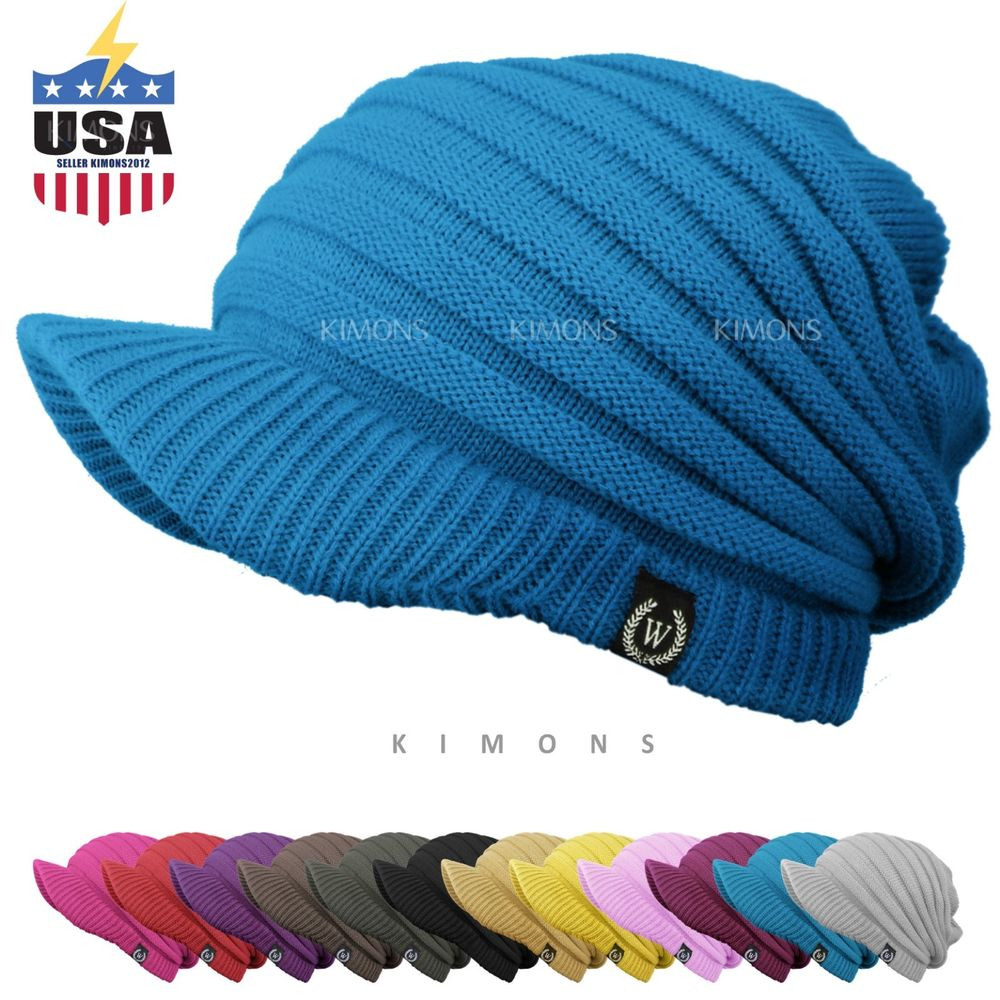 Lovely S Visor Cable Knit Slouchy Baggy Beanie Oversize Winter Winter Knit Hats Of Charming 40 Photos Winter Knit Hats