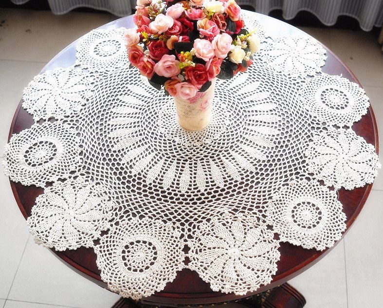 Lovely Sale Vintage Look Crocheted Tablecloth 36 by Tableclothshop Crochet Tablecloth for Sale Of Delightful 42 Ideas Crochet Tablecloth for Sale