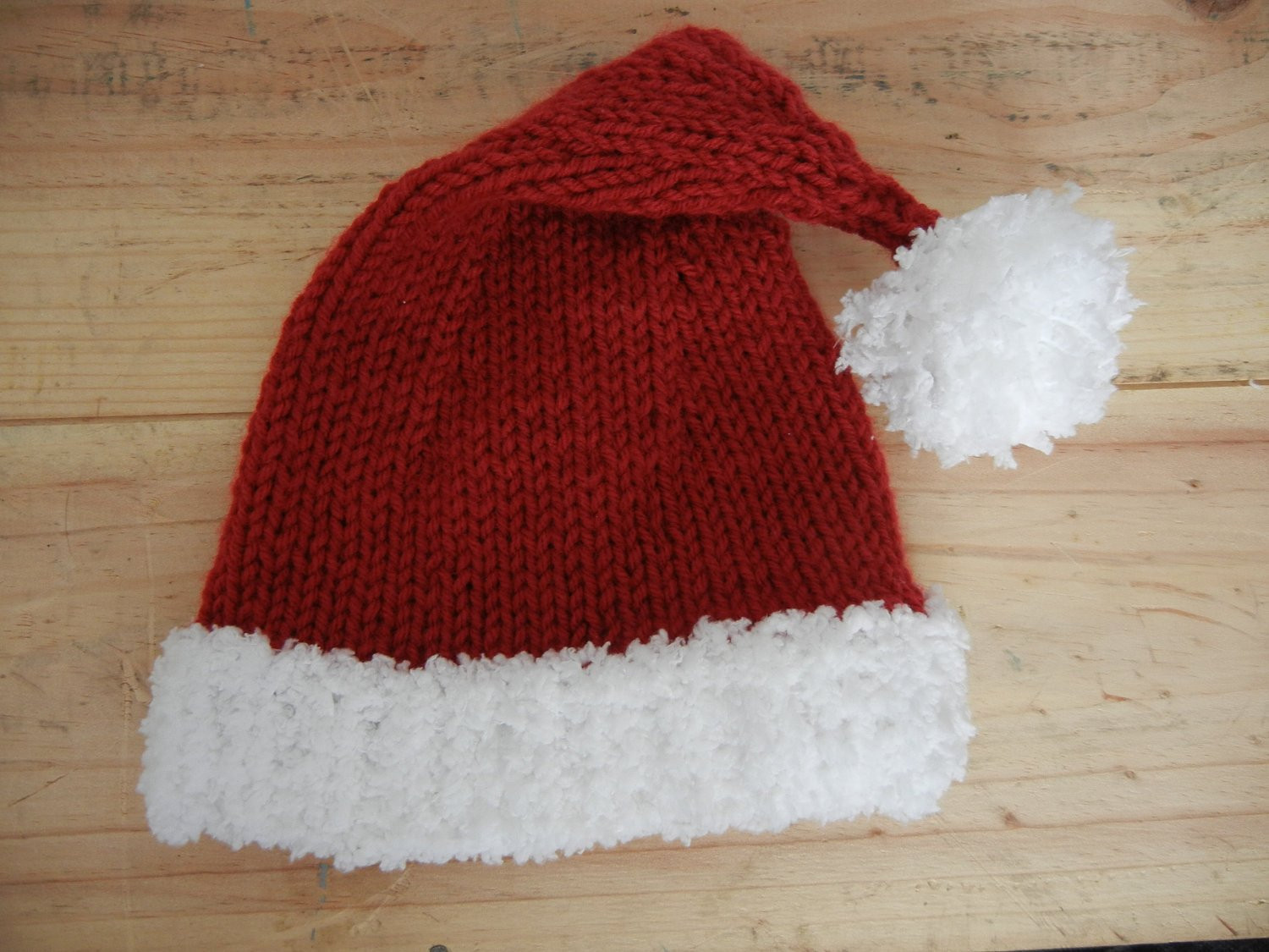 Lovely Santa Hat Knitting Pattern Baby Child Adult by Knitted Santa Hat Of Fresh 50 Photos Knitted Santa Hat