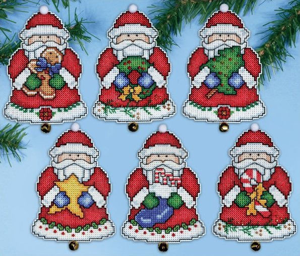 Santa s Gifts Christmas Ornament Cross Stitch Kit only £20 95