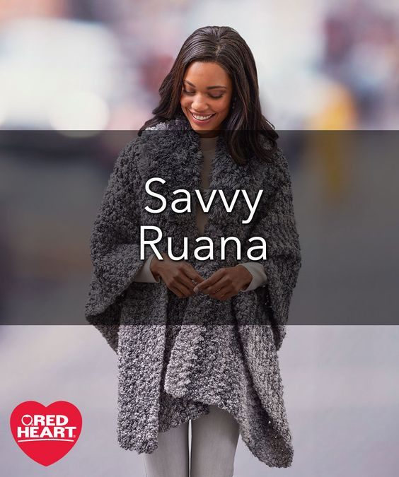 Lovely Savvy Ruana Free Crochet Pattern In Red Heart Yarns Free Crochet Ruana Pattern Of Amazing 46 Ideas Free Crochet Ruana Pattern