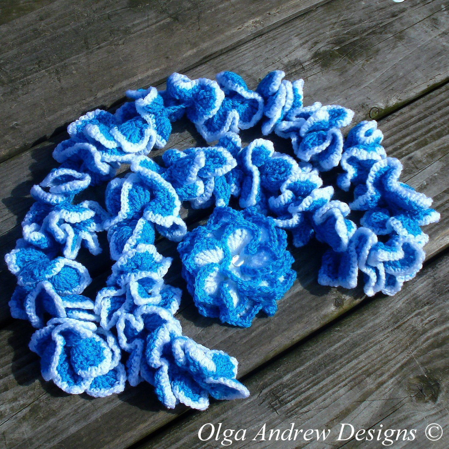 Lovely Scarf Crochet Flower Brooch Crochet Ruffle Scarf Crochet Crochet Ruffle Scarf Of Inspirational Firehawke Hooks and Needles Free Pattern Ruffle Scarf Crochet Ruffle Scarf