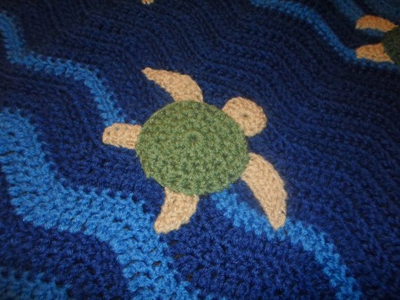 Lovely Sea Turtle Crochet Baby Blanket Afghan Sea Turtle Crochet Blanket Pattern Of Beautiful Premier Sea Turtle Blanket Free Download – Premier Yarns Sea Turtle Crochet Blanket Pattern