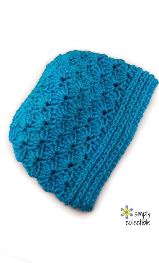 Lovely Seashore Messy Bun Hat 2 In1 • Simply Collectible Free Crochet Messy Bun Pattern Of Marvelous 48 Pics Free Crochet Messy Bun Pattern