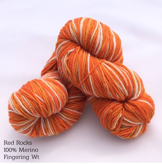 Lovely Self Striping Red Rocks Hand Dyed sock Yarn In Dyed Self Striping sock Yarn Of Superb 41 Ideas Self Striping sock Yarn