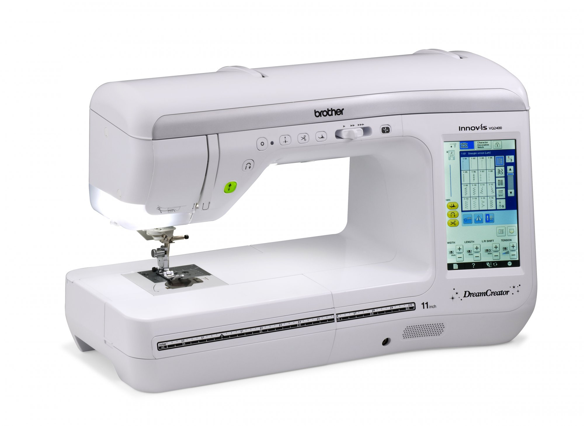 Lovely Sewing Machine Brother Dreamcreator Vq2400 Sewing Only Embroidery Only Machines Of Perfect 49 Pics Embroidery Only Machines