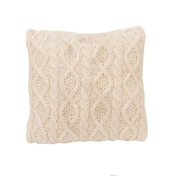 Lovely Shop Hiend Accents Cream Cable Knit 18 Inch Square Throw Cable Knit Throw Pillow Of Great 48 Ideas Cable Knit Throw Pillow
