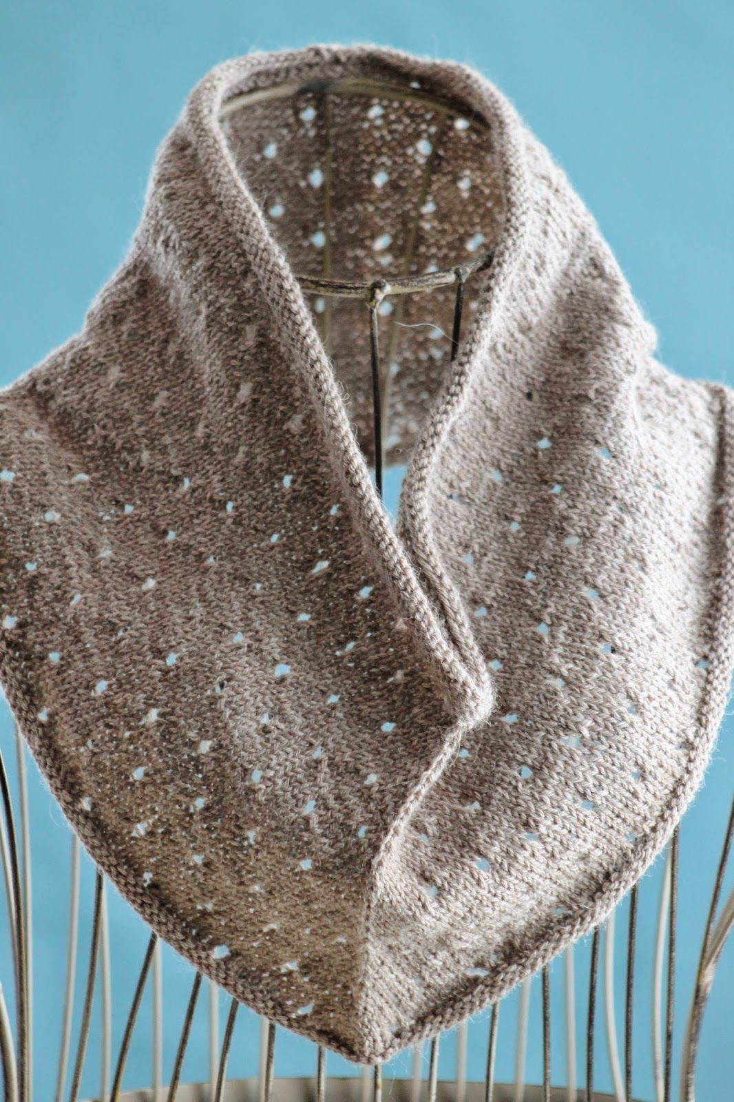 Lovely Simple Eyelet Cowl Cool Things to Knit Free Knitted Cowl Patterns Of Incredible 45 Images Free Knitted Cowl Patterns
