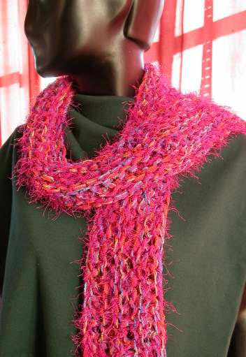 simple scarf knitting patterns for beginners