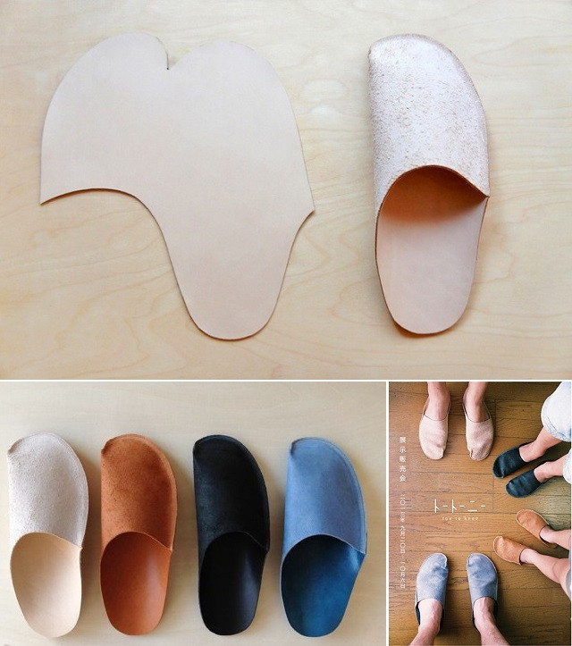 Simple Slippers Pattern DIY AllDayChic