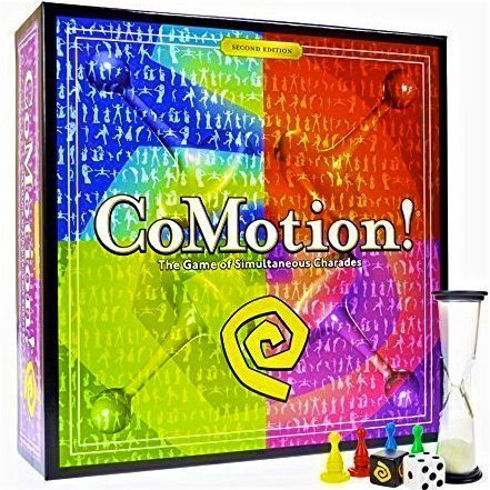 Simply Addictive Games CoMotion Family Board Game New