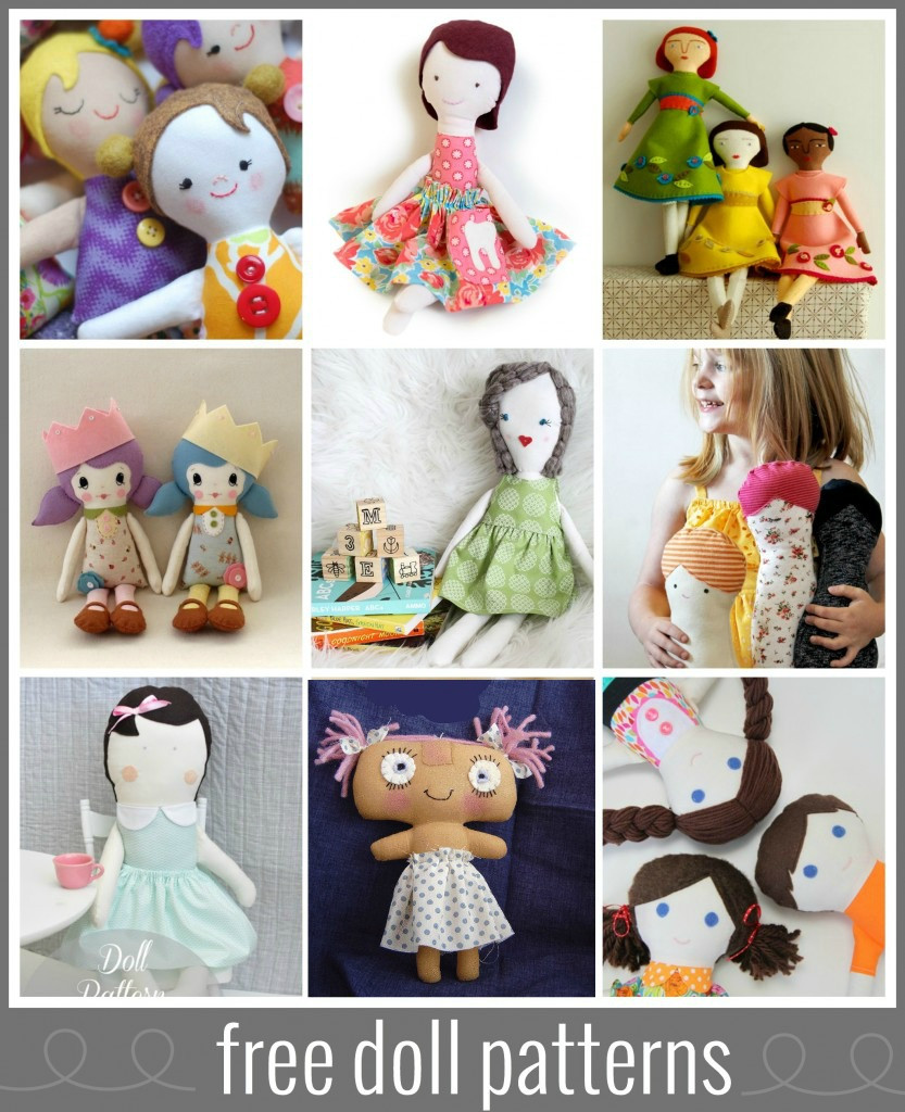 Lovely Six Weeks Of Love for softies at Sew Mama Sew Free Doll Patterns Of Unique 47 Photos Free Doll Patterns