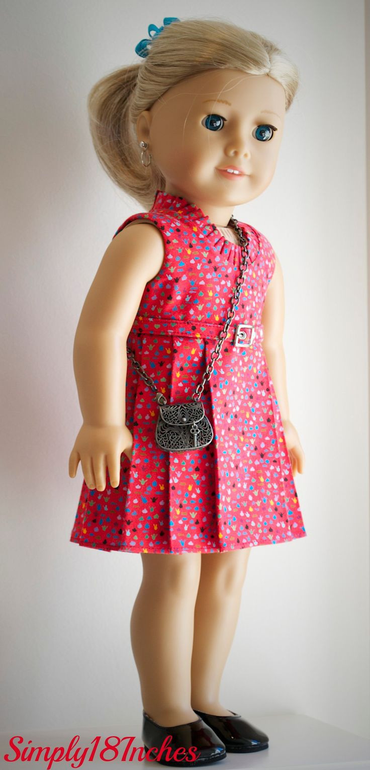 Lovely Sleeveless Print Dress soon to Be Listed at Simply18inches American Doll Dresses Of Great 47 Images American Doll Dresses
