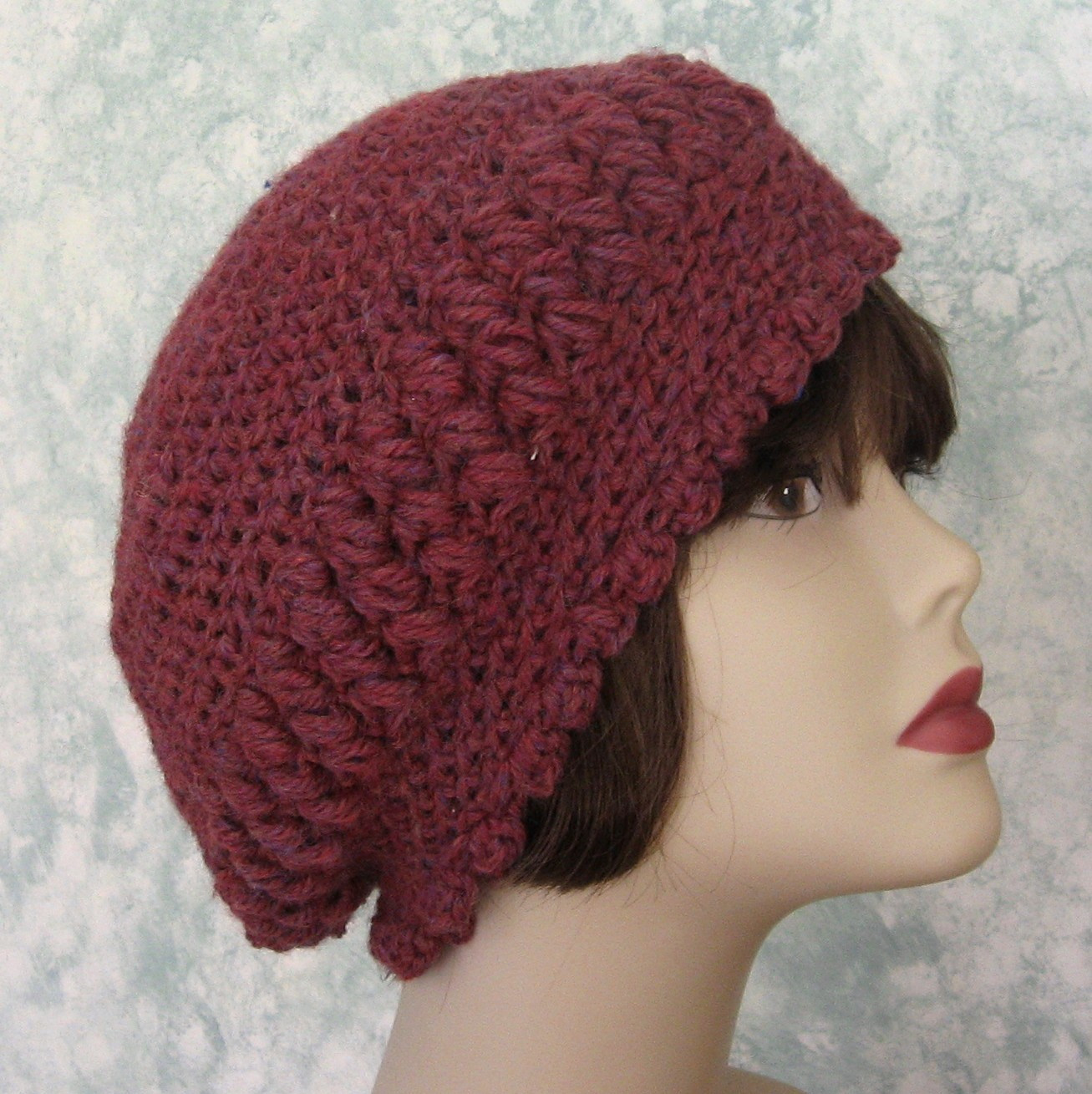 Lovely Slouch Hats – Tag Hats Simple Crochet Hat Patterns Of Attractive 42 Photos Simple Crochet Hat Patterns