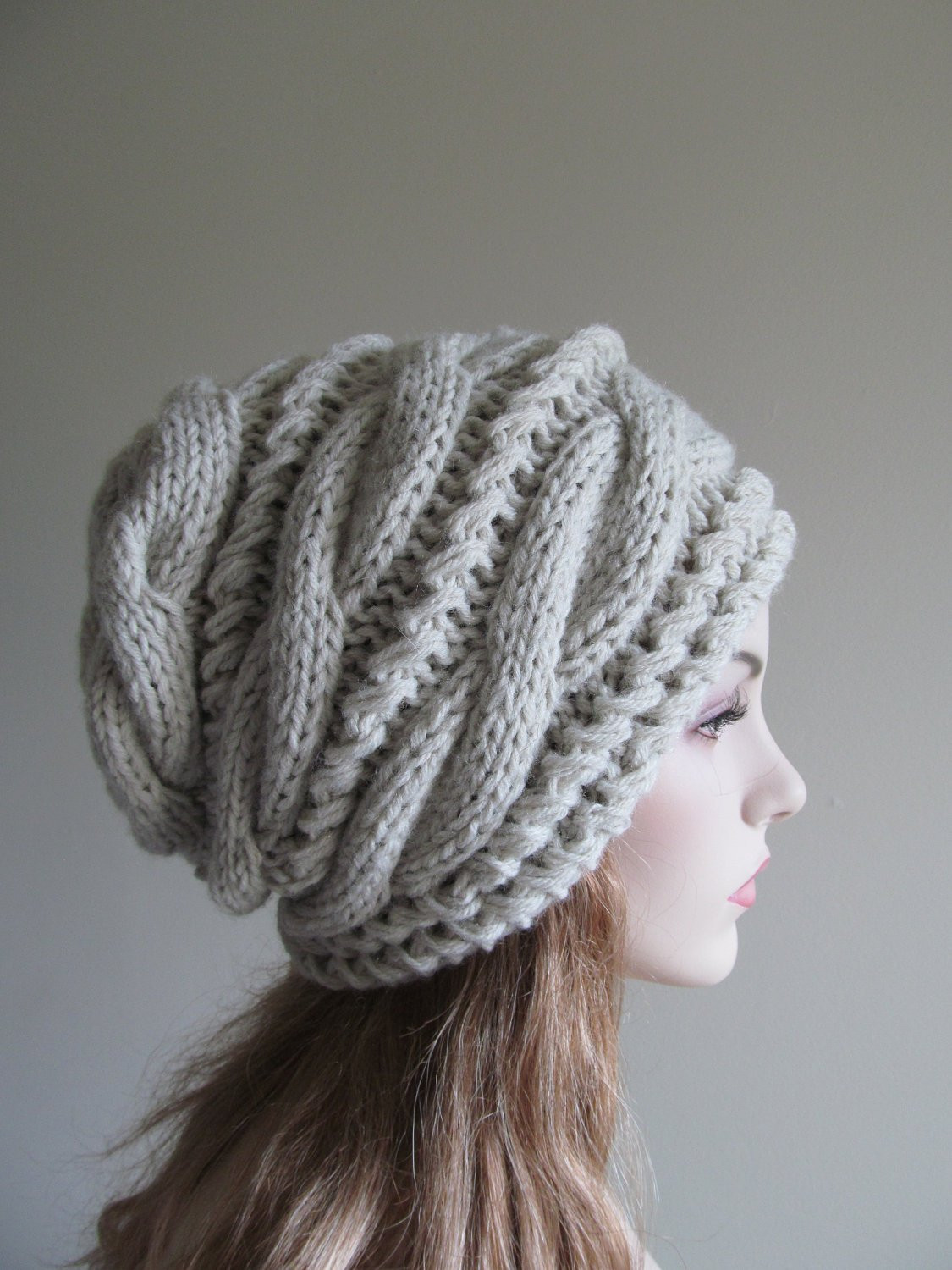 Lovely Slouchy Beanie Slouch Hats Oversized Baggy Gray Cabled Hat Slouchy Winter Hat Of Top 47 Models Slouchy Winter Hat
