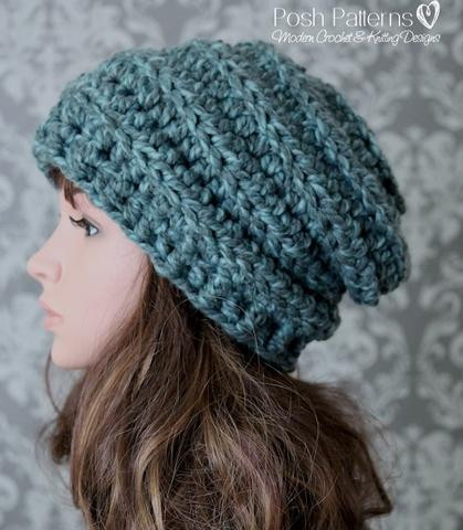 Lovely Slouchy Hat Patterns Chunky Crochet Hat Pattern Of Delightful 50 Ideas Chunky Crochet Hat Pattern
