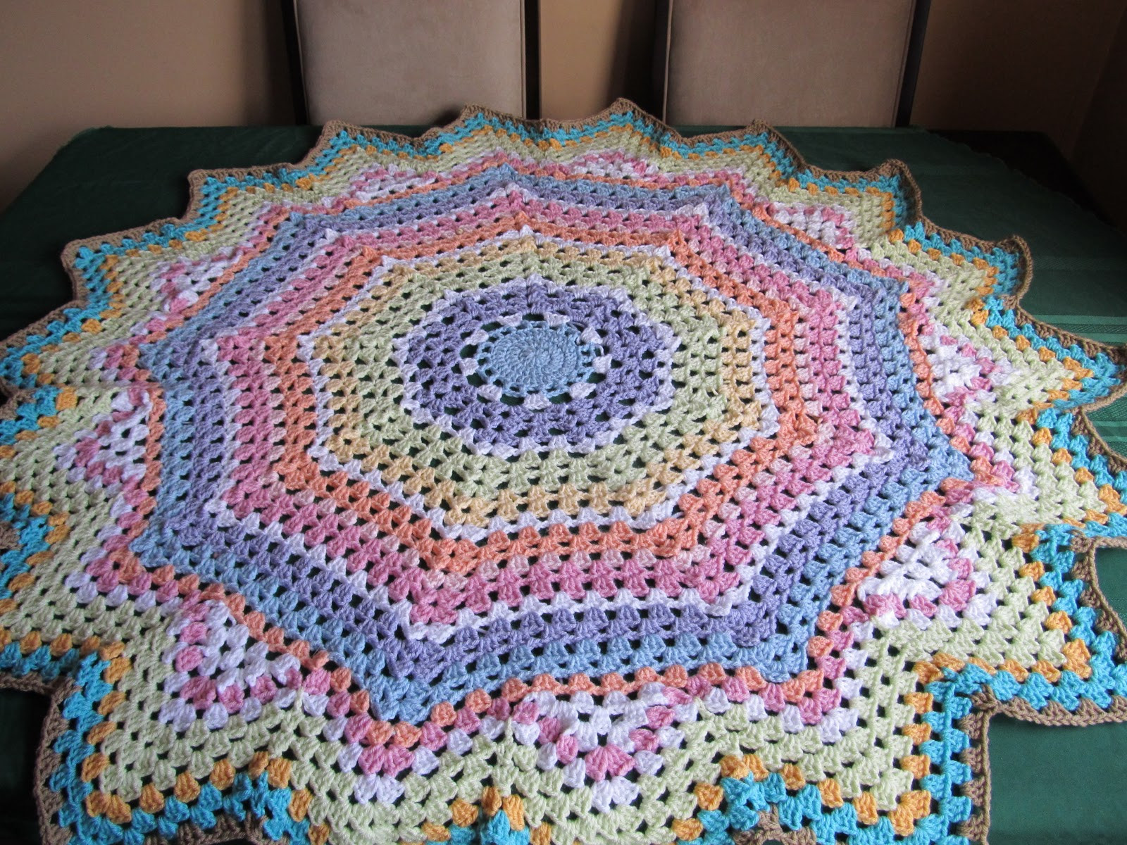 Lovely Smoothfox Crochet and Knit Testers Wanted Stir Up A Round Crochet Blanket Of Fresh 46 Models Round Crochet Blanket