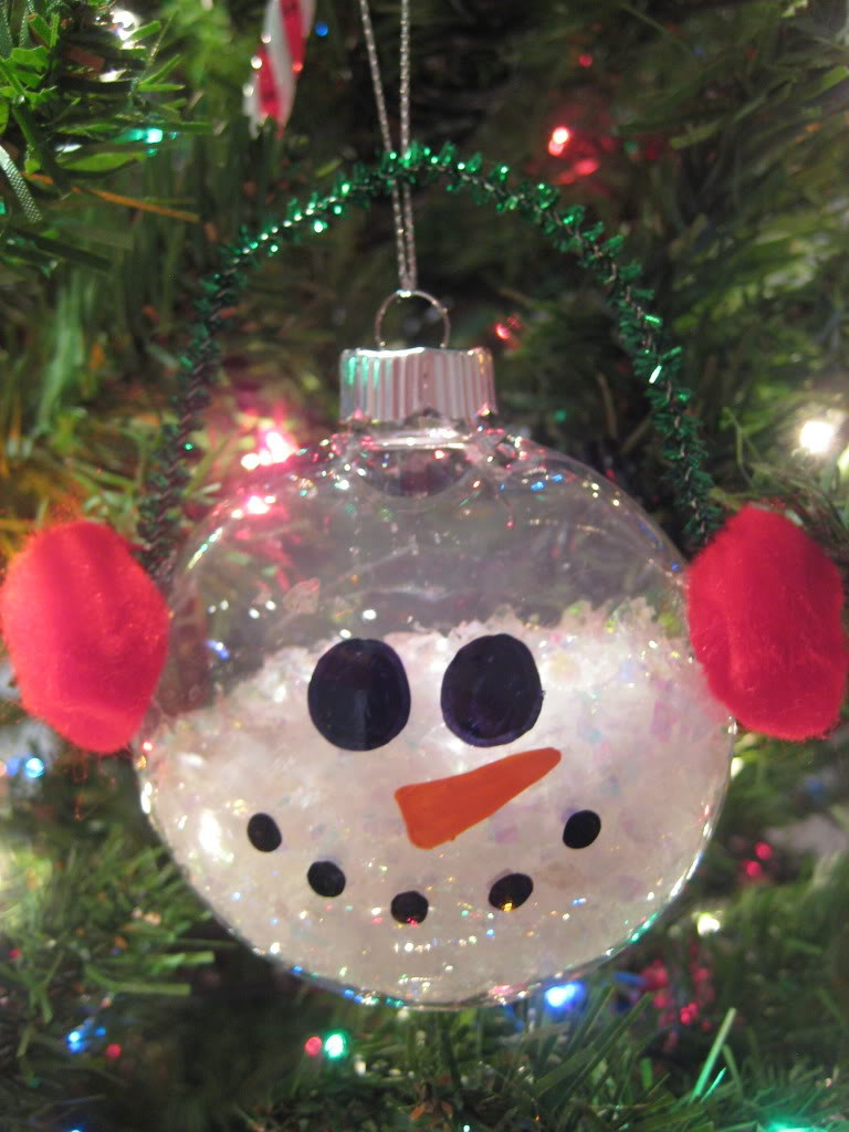 Snowman Christmas Decorations To Make Plushka's Craft