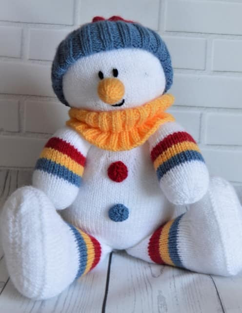 Lovely Snowman softie • Knitting by Post Snowman Knitting Pattern Of Attractive 40 Images Snowman Knitting Pattern