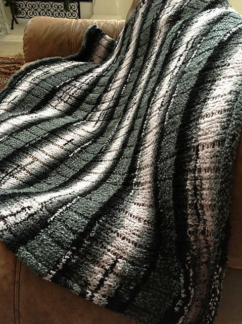 Lovely Striped Loom Knit Afghan Pattern by Kristen Mangus Afghan Knitting Loom Of Superb 49 Pics Afghan Knitting Loom
