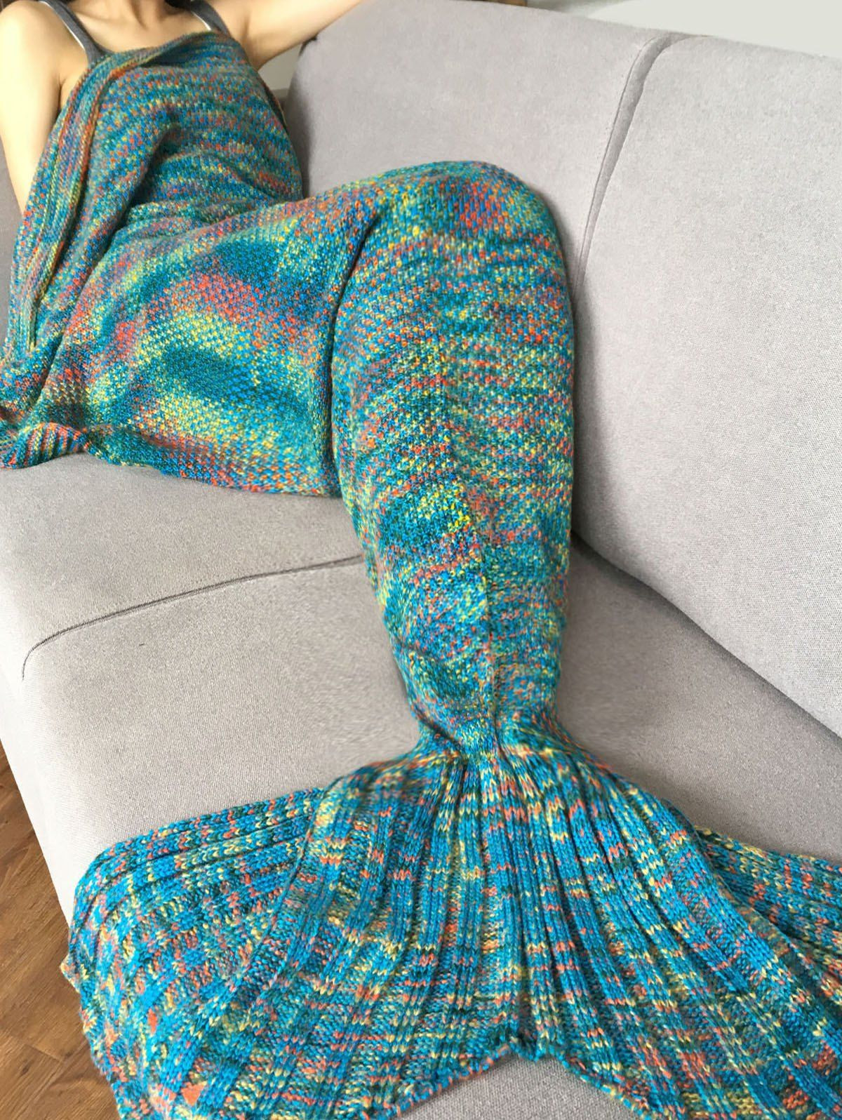 Lovely Stylish Crochet Knitted Super soft Mermaid Tail Shape Mermaid Tail Knitting Pattern Of Awesome 40 Pictures Mermaid Tail Knitting Pattern