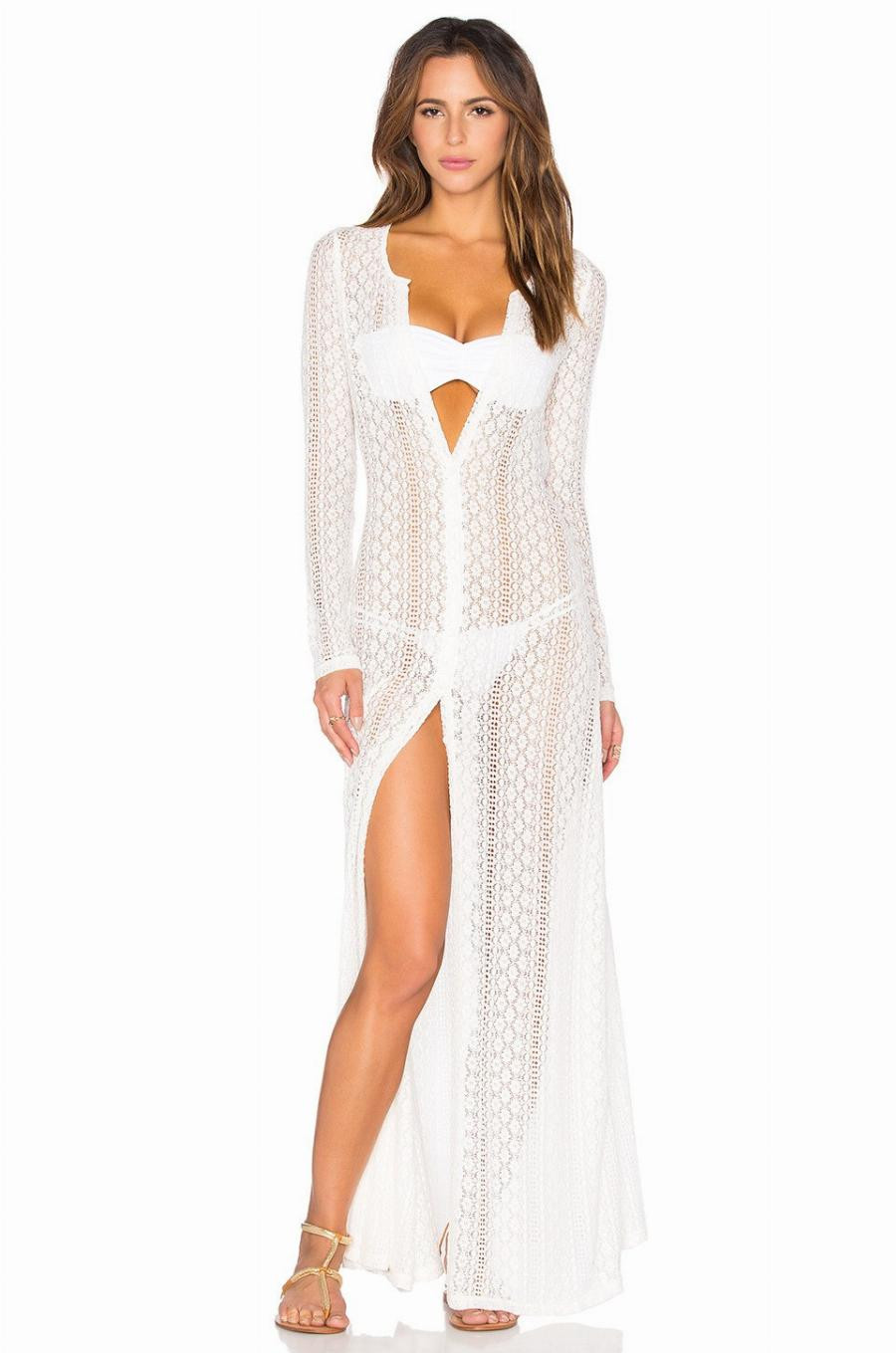 Lovely Summer Style Women Hollow Out Bathing Suit Swimsuit Cover White Crochet Cover Ups Of Charming 44 Pics White Crochet Cover Ups