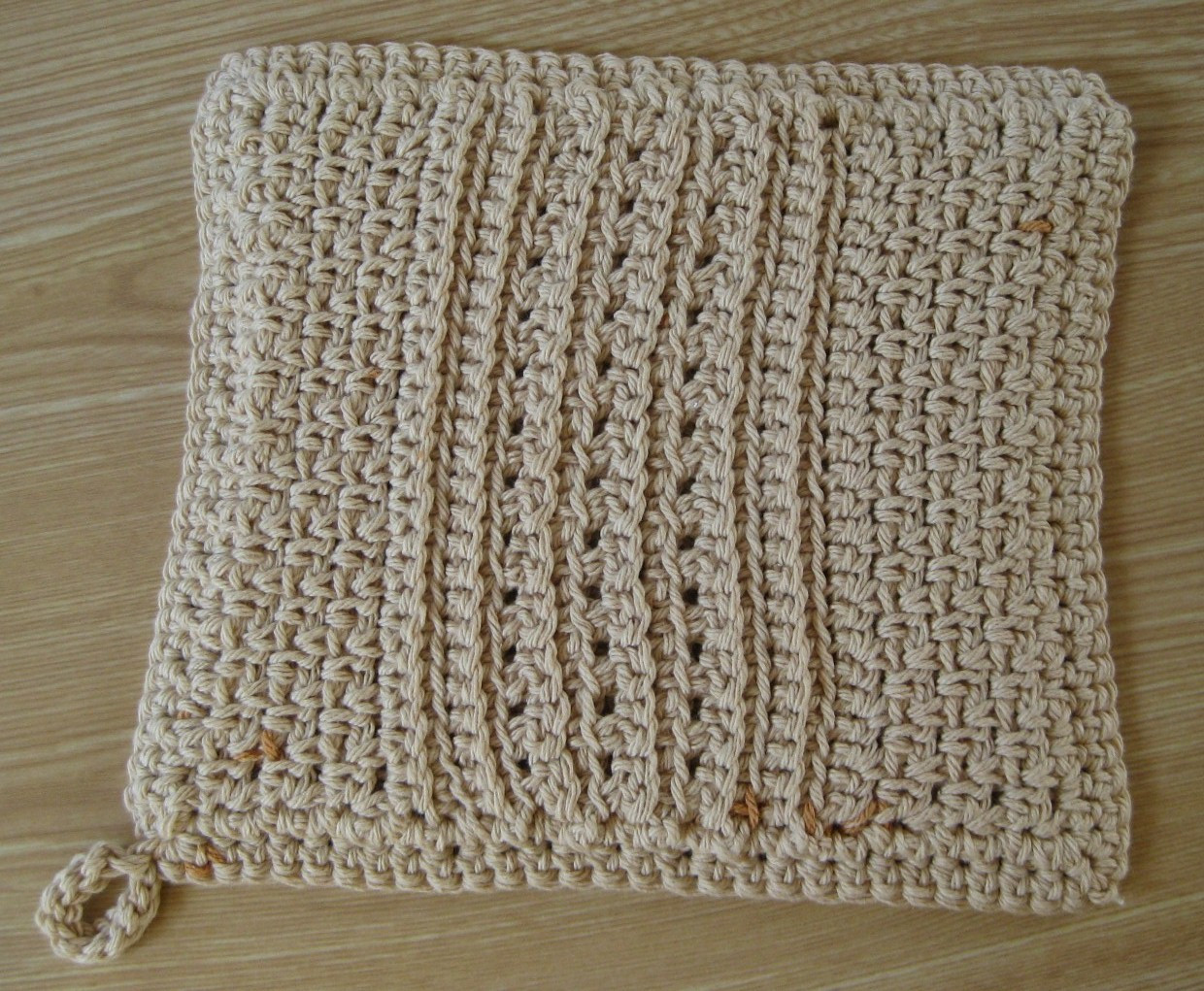 Lovely Tales and Yarns by Laurie Laliberte Free Crochet Pattern Crochet Hot Pad Pattern Of Awesome 35 Pictures Crochet Hot Pad Pattern