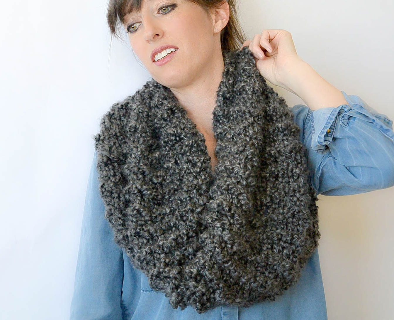 Lovely Tall Eiffel Cowl Beginner Knitting Pattern – Mama In A Knitted Cowl Of Brilliant 41 Models Knitted Cowl