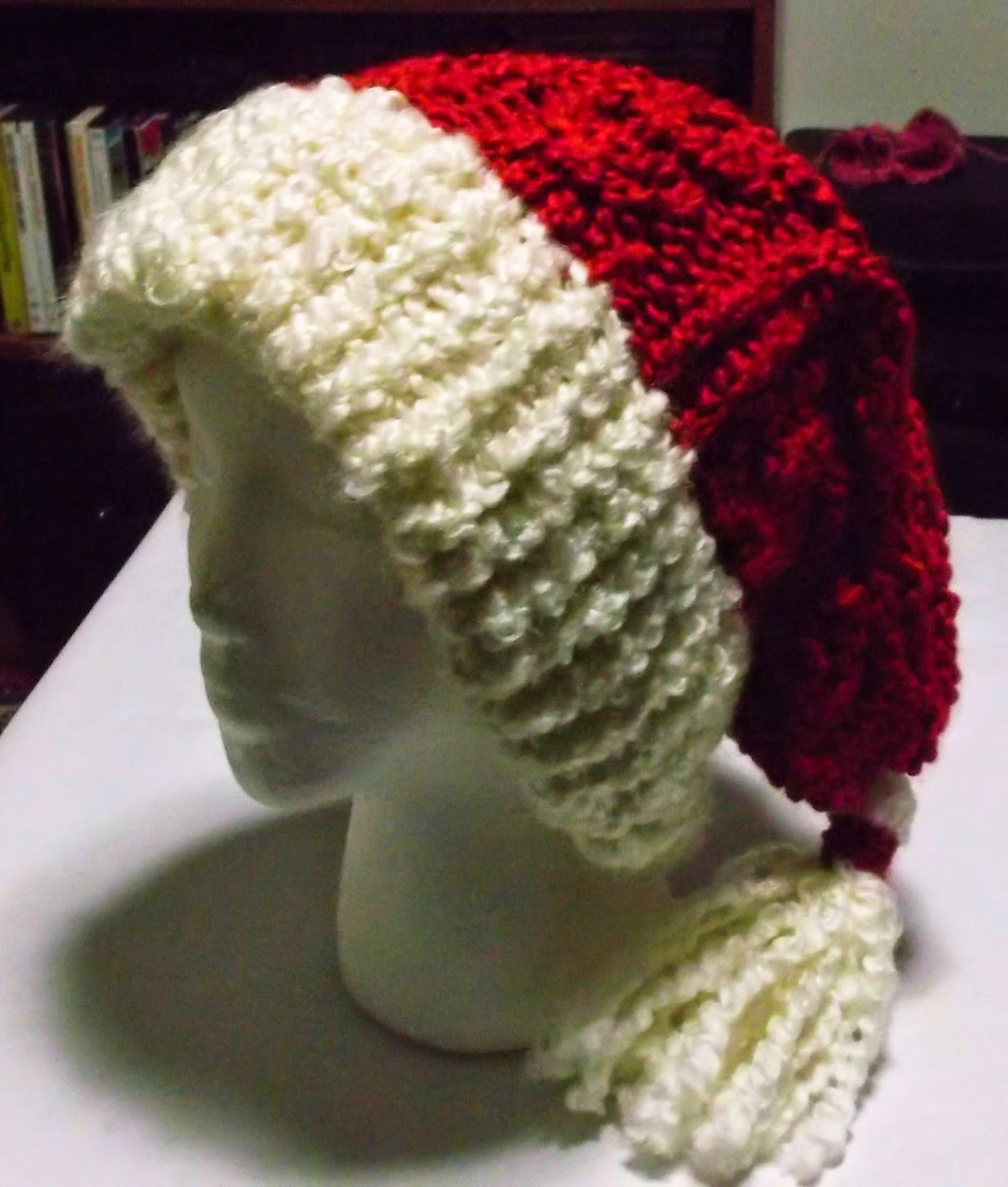 Lovely the Loom Muse How to Loom Knit A Cabled Santa Hat Knitted Santa Hat Of Fresh 50 Photos Knitted Santa Hat