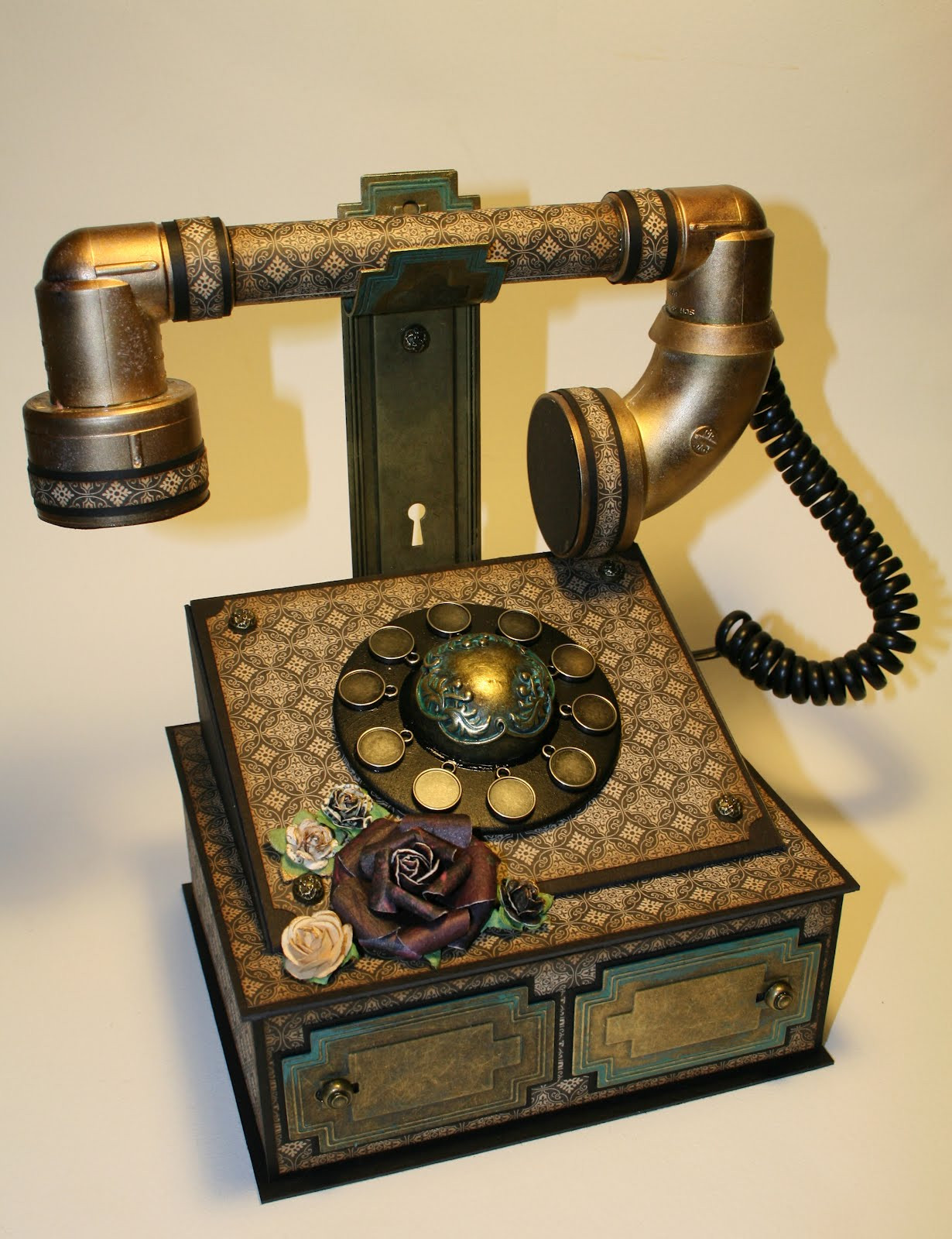 Lovely the Paper Trail Vintage Telephone Feminine Kits Updated Old Antique Phones Of Gorgeous 41 Photos Old Antique Phones
