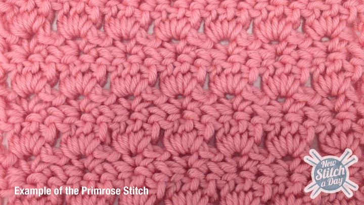 Lovely the Primrose Stitch Crochet New Stitch A Day New Crochet Stitches Of Adorable 47 Photos New Crochet Stitches