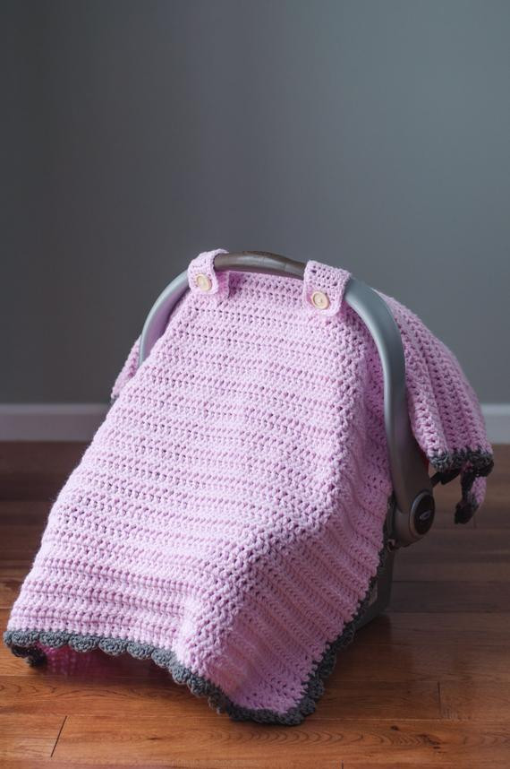 the thick and quick crochet car seat