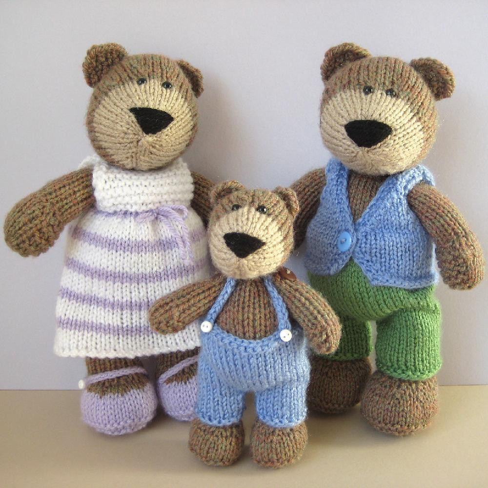 Lovely the Three Bears Knitted Bear Pattern Of Brilliant 42 Photos Knitted Bear Pattern