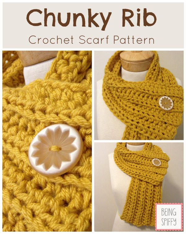 Lovely these 20 Free and Easy Crochet Scarf Patterns Will Blow Chunky Crochet Scarf Pattern Of Superb 40 Ideas Chunky Crochet Scarf Pattern