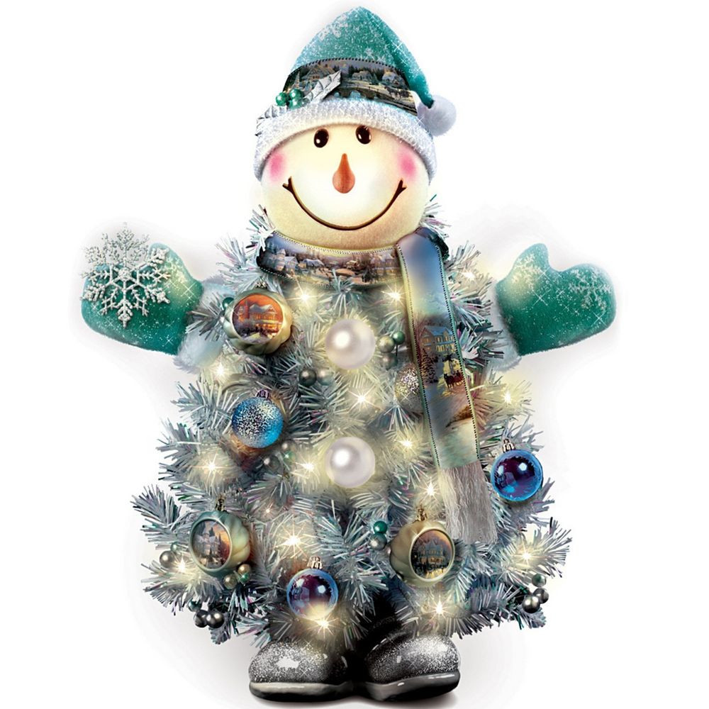 Lovely Thomas Kinkade Snowman Christmas Tree ornament Holiday Snowman Christmas ornaments Of Adorable 45 Models Snowman Christmas ornaments