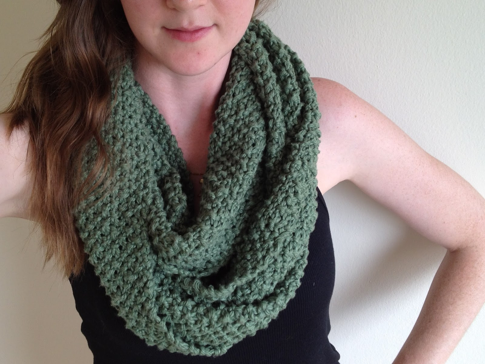 Lovely Tinselmint How to Wear An Infinity Scarf Free Infinity Scarf Pattern Of Marvelous 48 Images Free Infinity Scarf Pattern