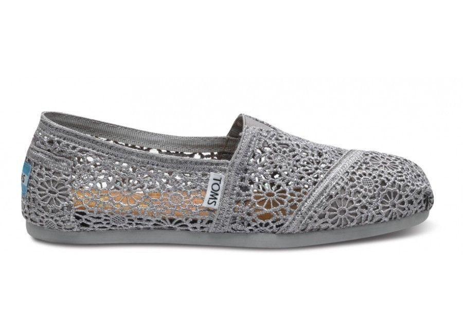 Lovely toms Silver Crochet Women S Classics All Sizes Available toms Crochet Shoes Of Wonderful 45 Ideas toms Crochet Shoes