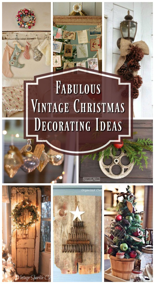 Lovely top Vintage Christmas Decorations Christmas Celebration Vintage Xmas Decorations Of Beautiful 40 Ideas Vintage Xmas Decorations