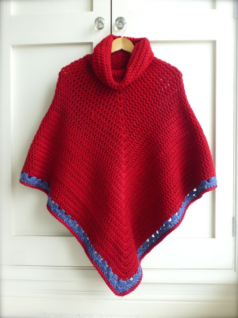 Lovely Tutorial Crochet Poncho Ponco Crochet Of Great 49 Images Ponco Crochet