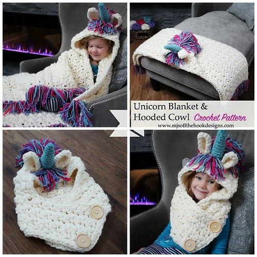 Lovely Unicorn Crochet Hat Scarf Pattern is A Stunner Crochet Unicorn Blanket Pattern Of Marvelous 48 Photos Crochet Unicorn Blanket Pattern