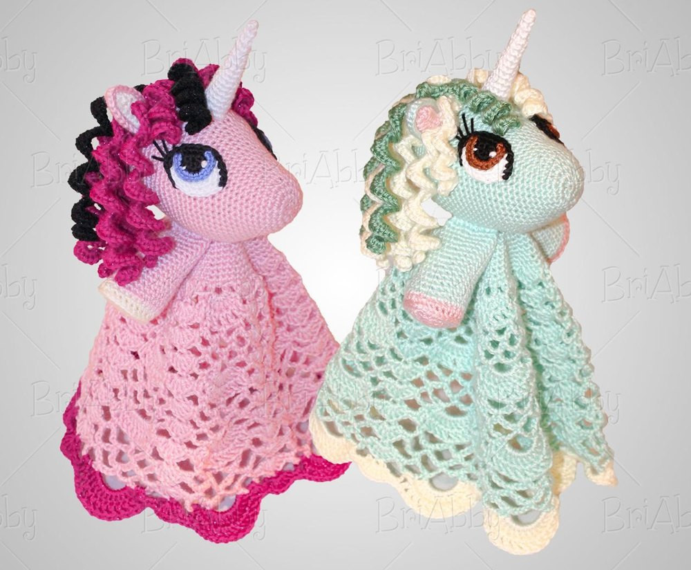 Lovely Unicorn Pony Lovey Security Blanket Crochet Pattern by Crochet Unicorn Blanket Pattern Of Marvelous 48 Photos Crochet Unicorn Blanket Pattern