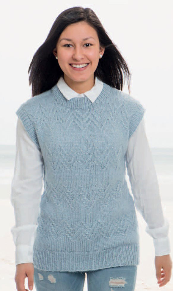 Lovely Vests ⋆ Knitting Bee 69 Free Knitting Patterns Knitted Vest Of Great 48 Pics Knitted Vest