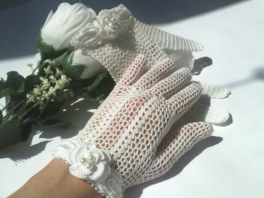 Lovely Victorian Style Handmade Crochet Bridal Gloves by Handmade Crochet Of Delightful 40 Pics Handmade Crochet