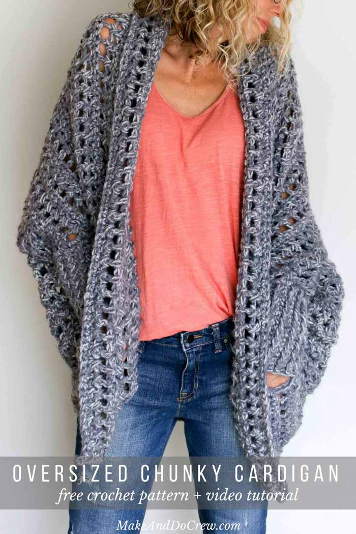 Lovely Video Tutorial How to Crochet A Sweater the Free Dwell Oversized Crochet Sweater Of Superb 44 Images Oversized Crochet Sweater