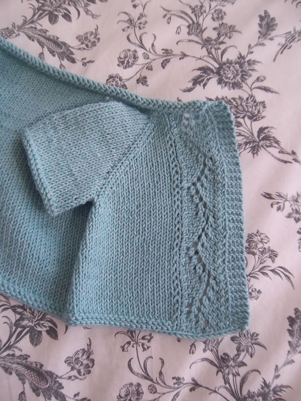 Lovely Vine Lace Cardi Pattern by Kasia Lubinska Free Knitting Patterns for Baby Sweaters Of Superb 43 Pics Free Knitting Patterns for Baby Sweaters