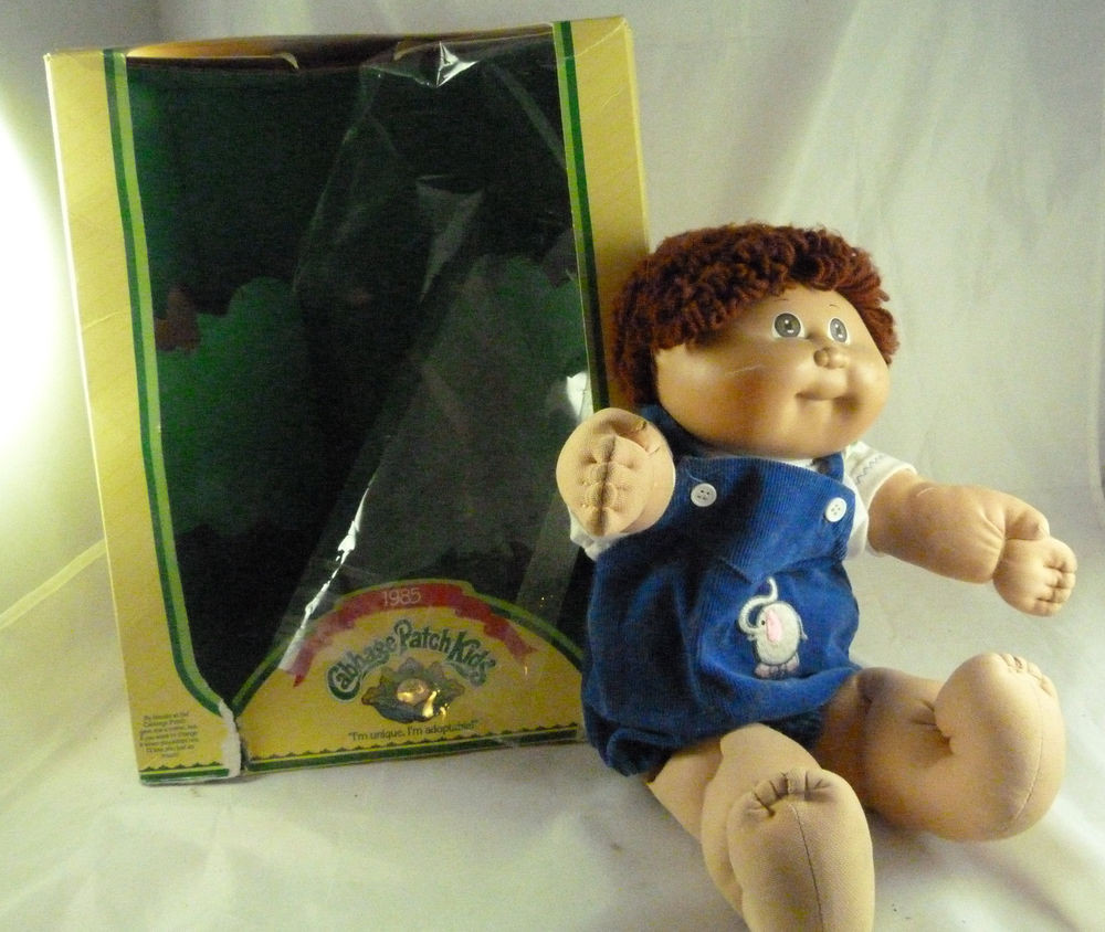 Lovely Vintage 1985 Cabbage Patch Kids Boy Doll In Box Coleco Cabbage Patch Doll Prices Of Innovative 49 Models Cabbage Patch Doll Prices